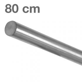 RVS Geborsteld Trapleuning 80 cm