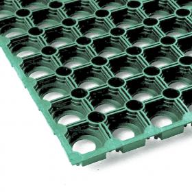 ringmat groen 100x150 cm