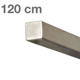 RVS Vierkante Trapleuning 120 cm