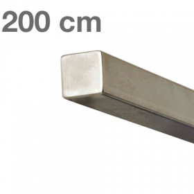 RVS Vierkante Trapleuning 200 cm