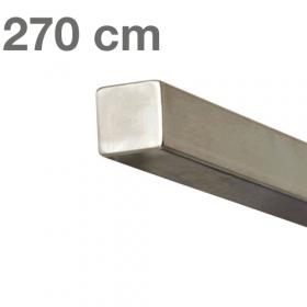 RVS Vierkante Trapleuning 270 cm