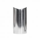 RVS design trapleuning houder - Gepolijst - 2 stuks